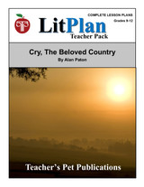 Cry the Beloved Country LitPlan Lesson Plans (Download)