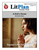 A Doll's House LitPlan Lesson Plans (Download)