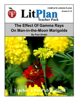 The Effect of Gamma Rays on Man in the Moon Marigolds LitPlan Lesson Plans (Download)