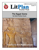 The Egypt Game LitPlan Lesson Plans (Download)