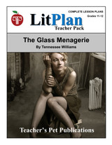 The Glass Menagerie LitPlan Lesson Plans (Download)