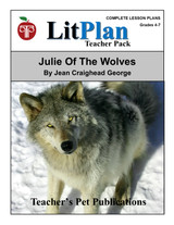 Julie of the Wolves LitPlan Lesson Plans (Download)