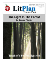 The Light in the Forest LitPlan Lesson Plans (Download)
