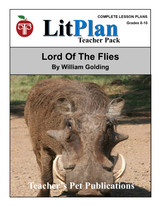 Lord of the Flies LitPlan Lesson Plans (Download)
