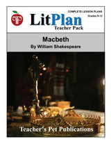 Macbeth LitPlan Lesson Plans (Download)