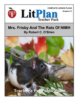 Mrs Frisby and the Rats of NIMH LitPlan Lesson Plans (Download)