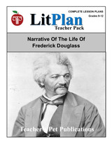 Narrative of the Life of Frederick Douglass LitPlan Lesson Plans (Download)