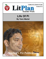 Life of Pi LitPlan Lesson Plans (Download)