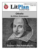 Othello LitPlan Lesson Plans (Download)