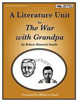The War With Grandpa Literature Unit