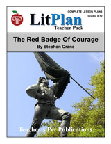 The Red Badge of Courage Lesson Plans   LitPlan Teacher Pack  (Download)