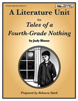 Tales of a Fourth-Grade Nothing Literature Unit