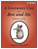 Ben and Me Literature Unit