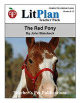 The Red Pony LitPlan Lesson Plans (Download)
