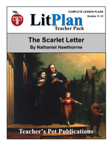The Scarlet Letter LitPlan Lesson Plans (Download)