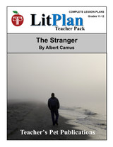 The Stranger LitPlan Lesson Plans (Download)