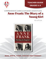 Anne Frank The Diary Of A Young Girl: Novel Unit Teacher Guide