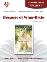 Because Of Winn-Dixie Novel Unit Teacher Guide