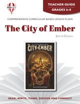 The City Of Ember Novel Unit Teacher Guide