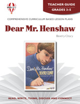 Dear Mr. Henshaw Novel Unit Teacher Guide