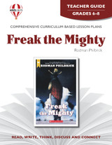 Freak The Mighty Novel Unit Teacher Guide