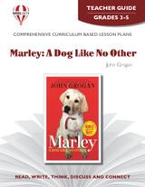 Marley:  A Dog Like No Other Novel Unit Teacher Guide
