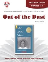 Out Of The Dust Novel Unit Teacher Guide