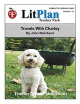 Travels With Charley Lesson Plans | LitPlan Teacher Pack (download)