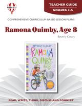 Ramona Quimby Age 8 Novel Unit Teacher Guide