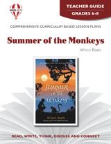 Summer Of The Monkeys Novel Unit Teacher Guide