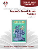 Tales Of A Fourth-Grade Nothing Novel Unit Teacher Guide