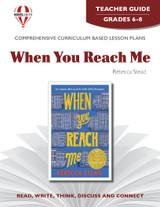 When You Reach Me Novel Unit Teacher Guide (PDF)