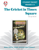 The Cricket In Times Square Novel Unit Student Packet