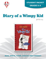 Diary Of A Wimpy Kid Novel Unit Student Packet