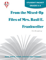 From The Mixed-Up Files Of Mrs. Basil E. Frankweiler Novel Unit Student Packet
