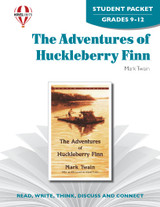 The Adventures Of Huckleberry Finn Novel Unit Student Packet