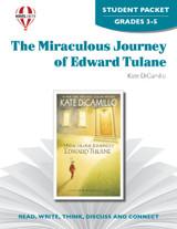 The Miraculous Journey Of  Edward Tulane Novel Unit Student Packet