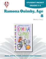 Ramona Quimby, Age 8 Novel Unit Student Packet