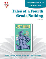 Tales Of A Fourth Grade Nothing Novel Unit Student Packet