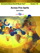 Across Five Aprils Standards Based End-Of-Book Test
