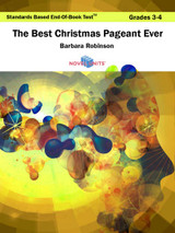 The Best Christmas Pageant Ever Standards Based End-Of-Book Test