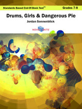 Drums Girls and Dangerous Pie Standards Based End-Of-Book Test