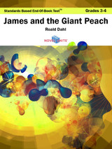 James And The Giant Peach Standards Based End-Of-Book Test