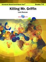 Killing Mr. Griffin Standards Based End-Of-Book Test