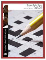 Cheaper By the Dozen Puzzle Pack Worksheets, Activities, Games