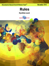 Rules Standards Based End-Of-Book Test