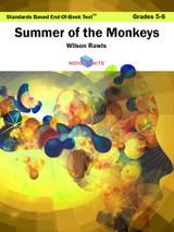 Summer Of The Monkeys Standards Based End-Of-Book Test