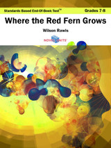 Where The Red Fern Grows Standards Based End-Of-Book Test