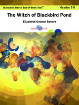 The Witch Of Blackbird Pond Standards Based End-Of-Book Test