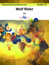 Wolf Rider Standards Based End-Of-Book Test